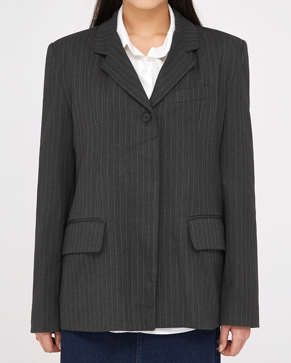 end gently stripe jacket